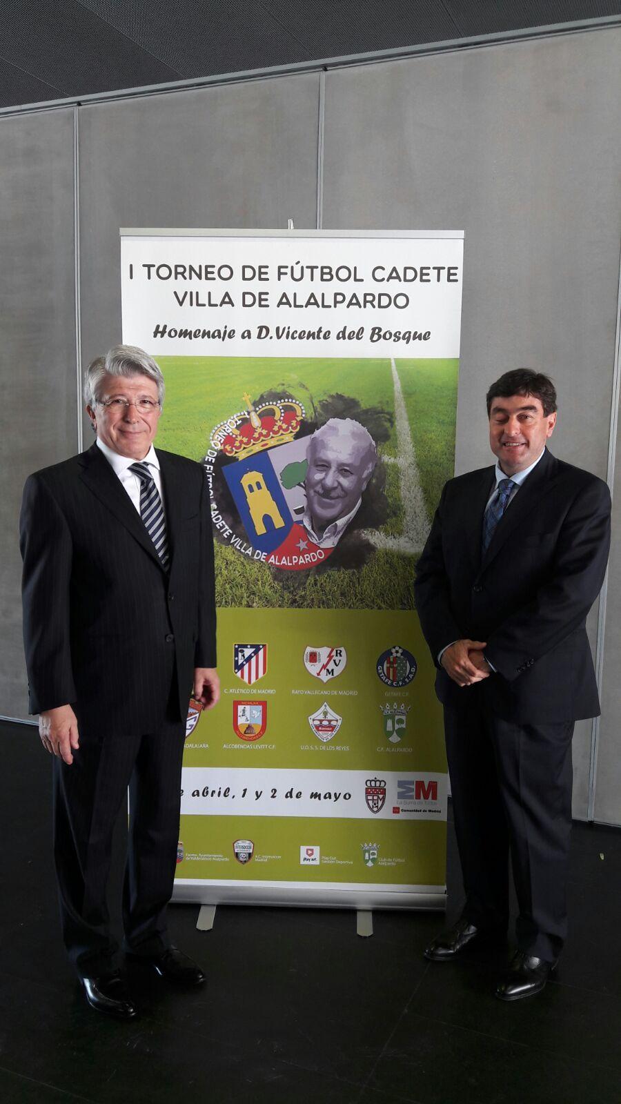 Presidente del Atlético de Madrid