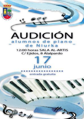 Audición alumnos de Piano Niurka
