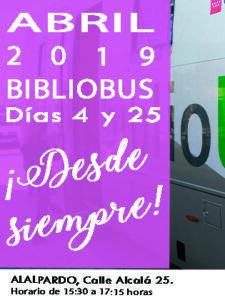 BIBLIOBÚS_Abril