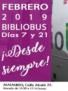 BIBLIOBÚS_Febrero