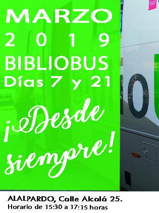 BIBLIOBÚS Marzo