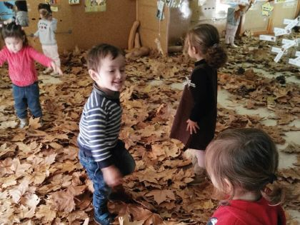 Otoño Casa de Niños Alalpardo
