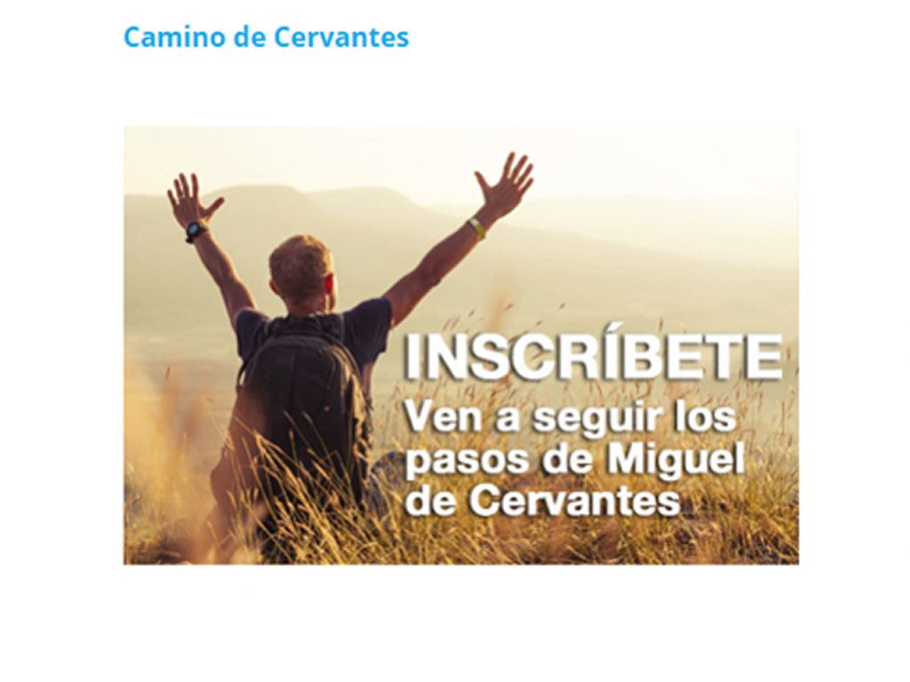 III Edición Camino Cervantes