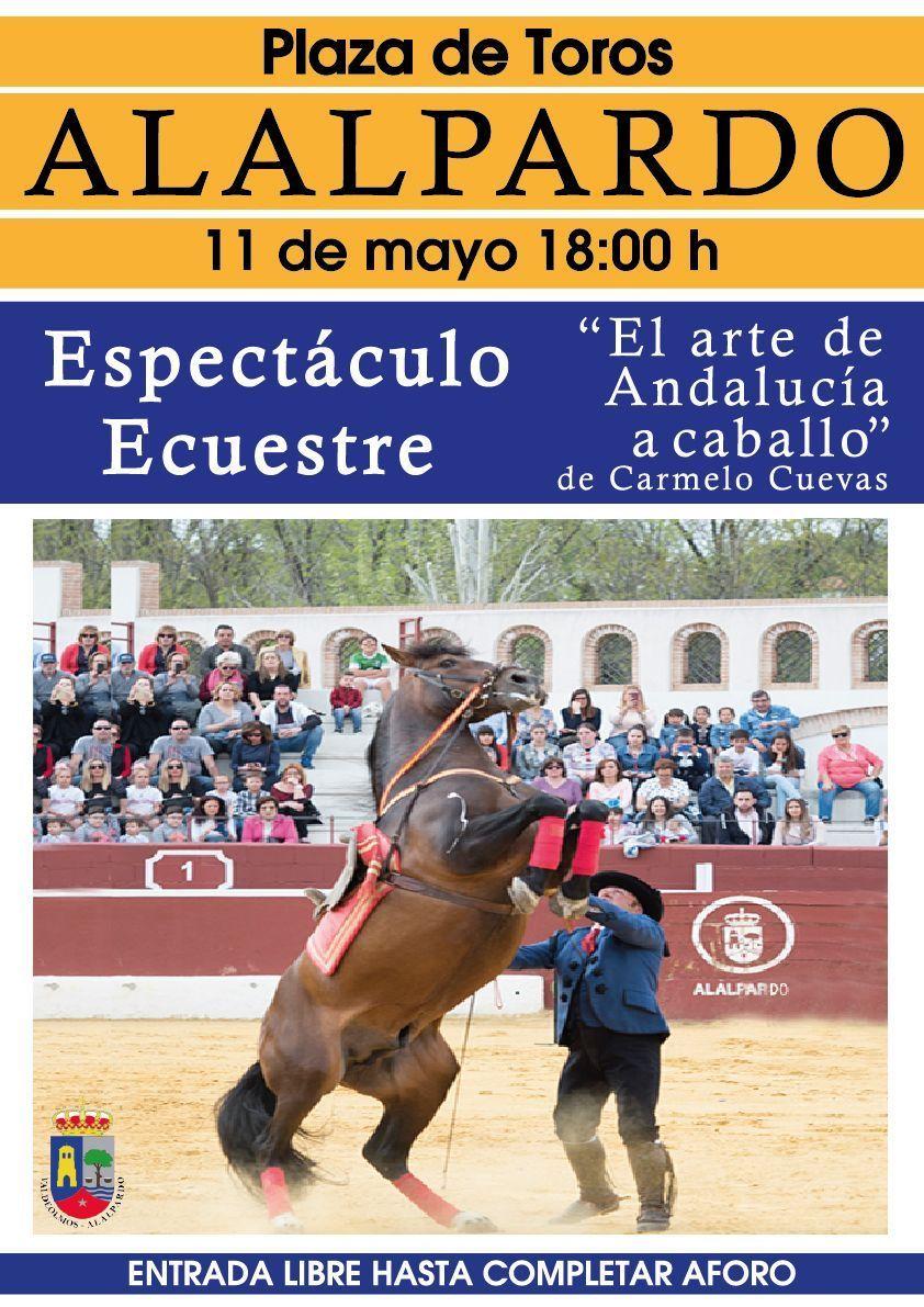 Cartel-ESPECTÁCULO-ECUESTRE-CARMELO-CUEVAS