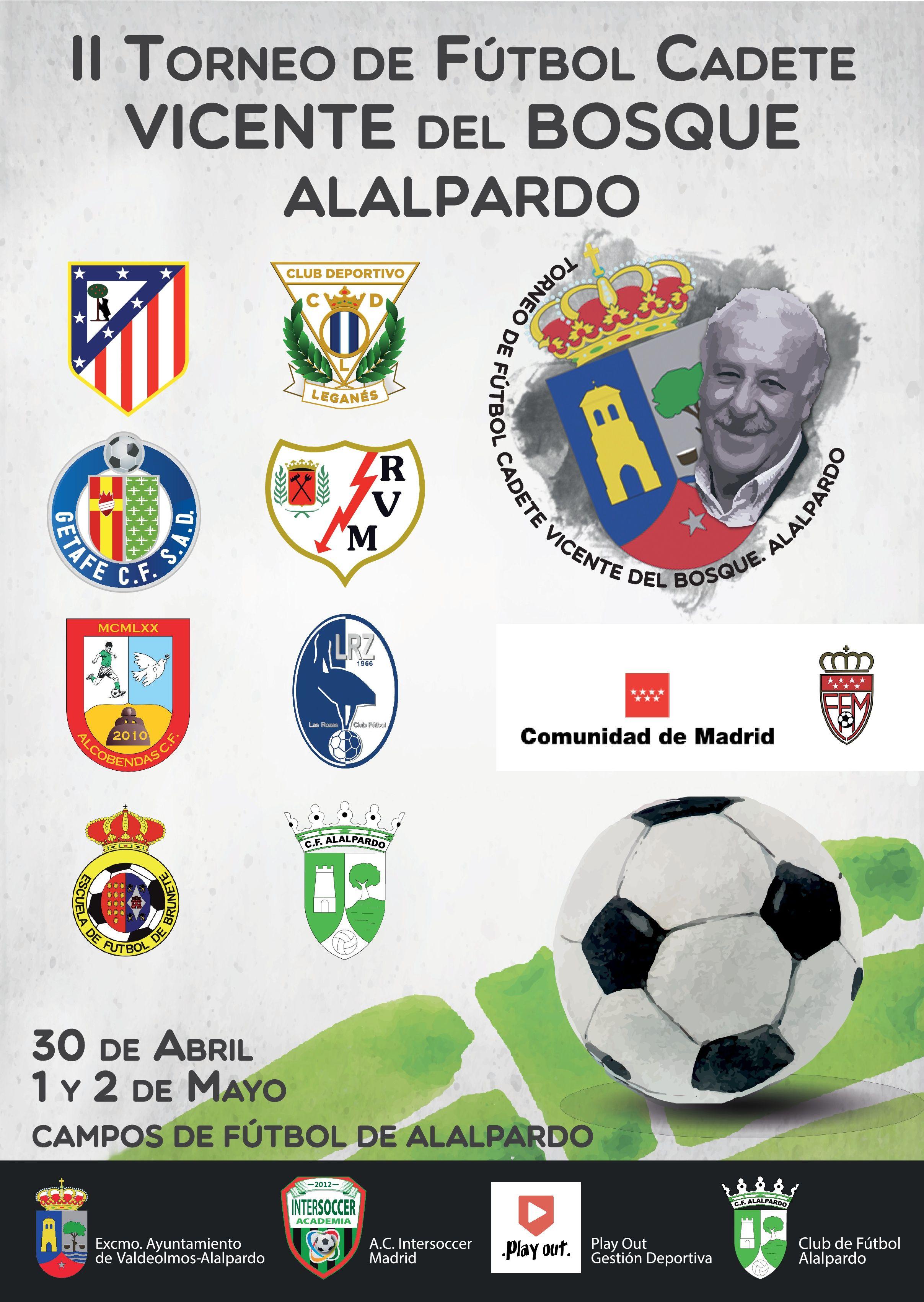II Torneo de Futbol Cadete Vicente del Bosque. Alalpardo