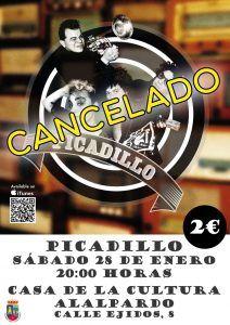 Cartel-PICADILLO_CANCELADO