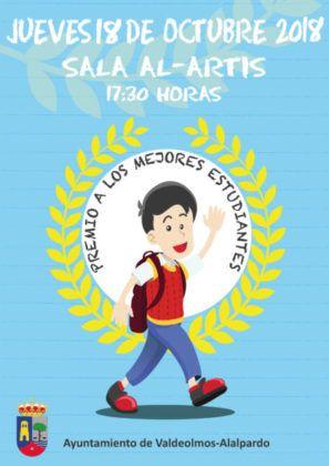Cartel Premio Mejores Estudiantes