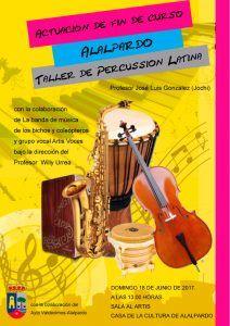 Cartel-taller-de-Percusión-Latina