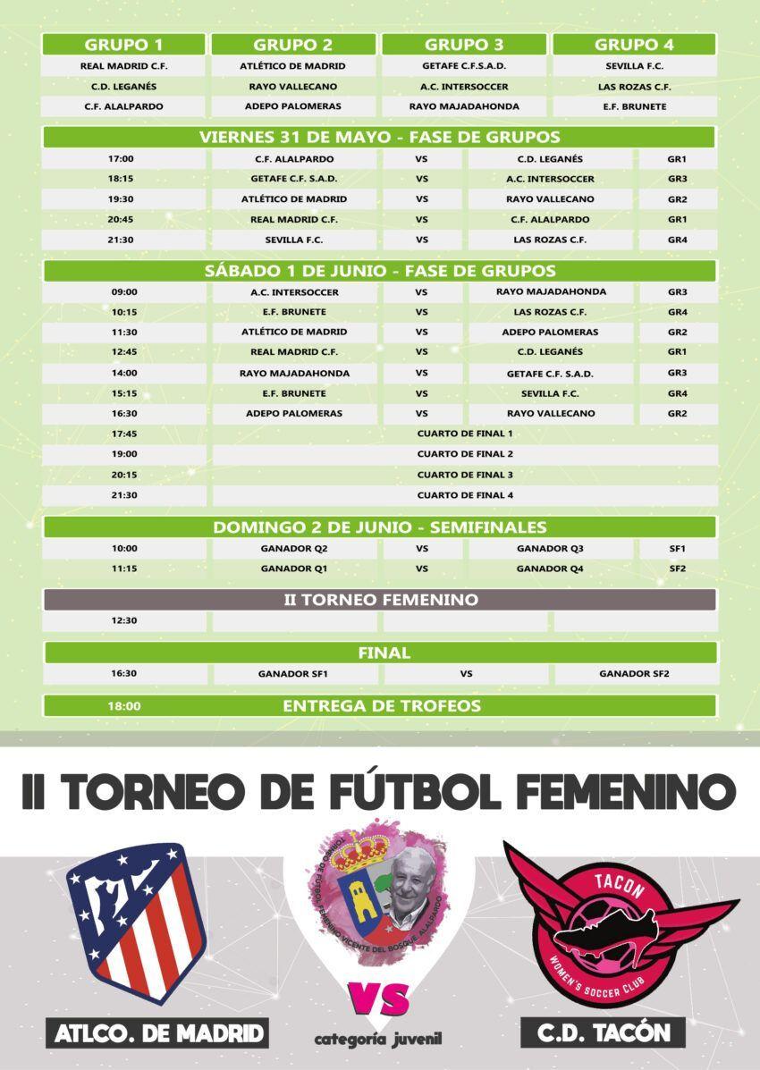 IV Torneo de Fútbol Cadete Vicente del Bosque. Villa de Alalpardo