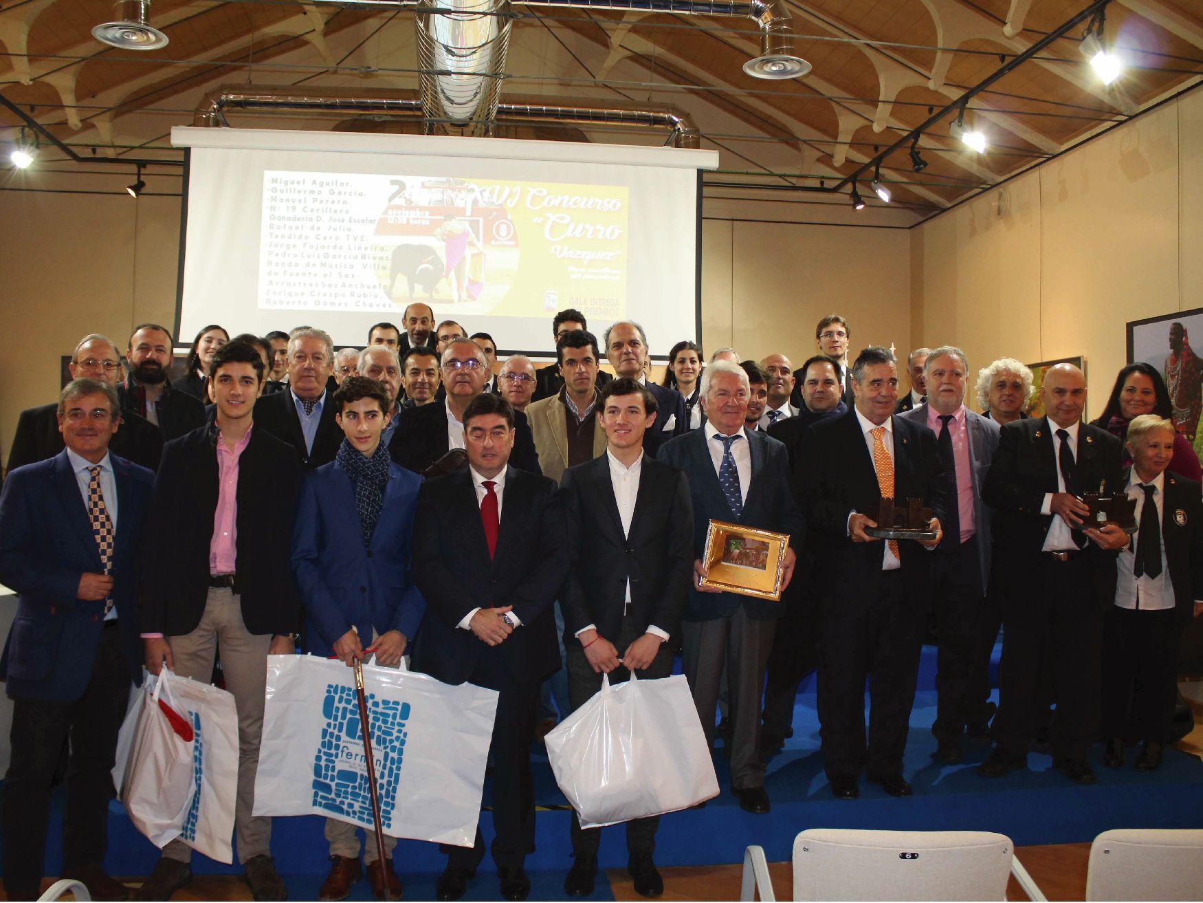 Gala Entrega de Premios XVI Curro Vazquez