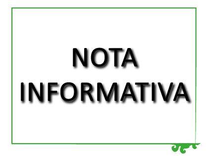 Nota Informativa CAMBIO DE UBICACIÓN