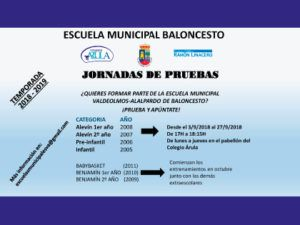 PRUEBAS BALONCESTO