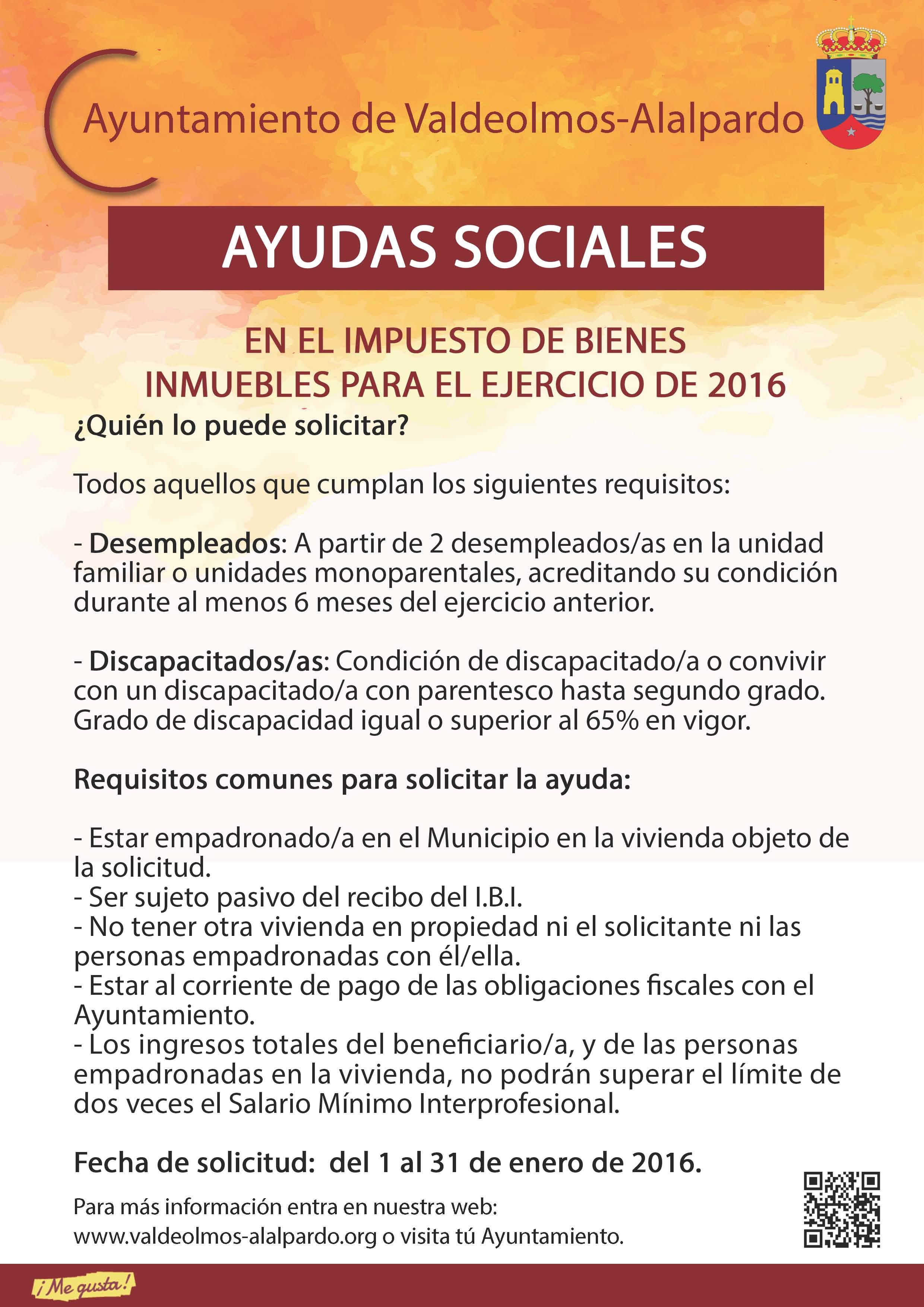 Plantilla AYUDAS SOCIALES IBI