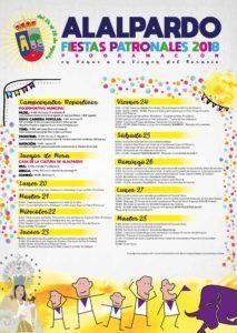 Programación Alalpardo Fiestas Patronales 2018