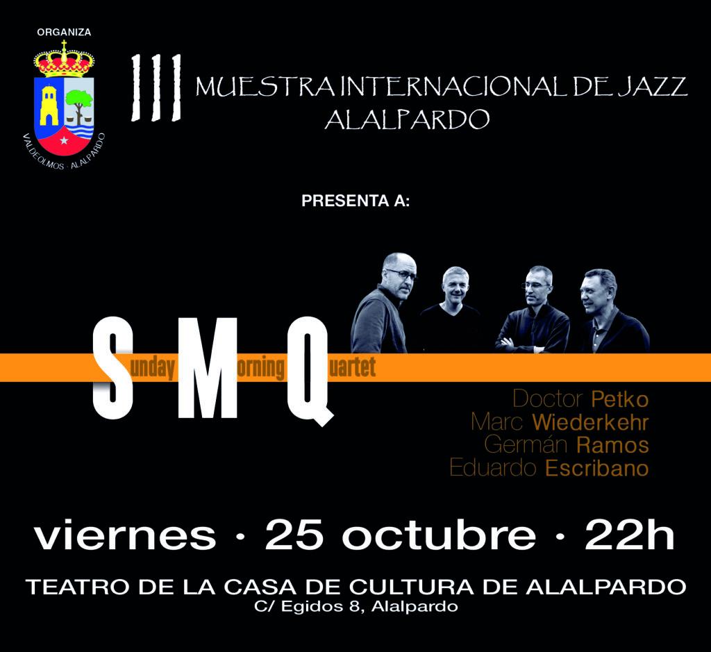 SMQ_25102019_Alalpardo III Muestra de Jazz_Cartel