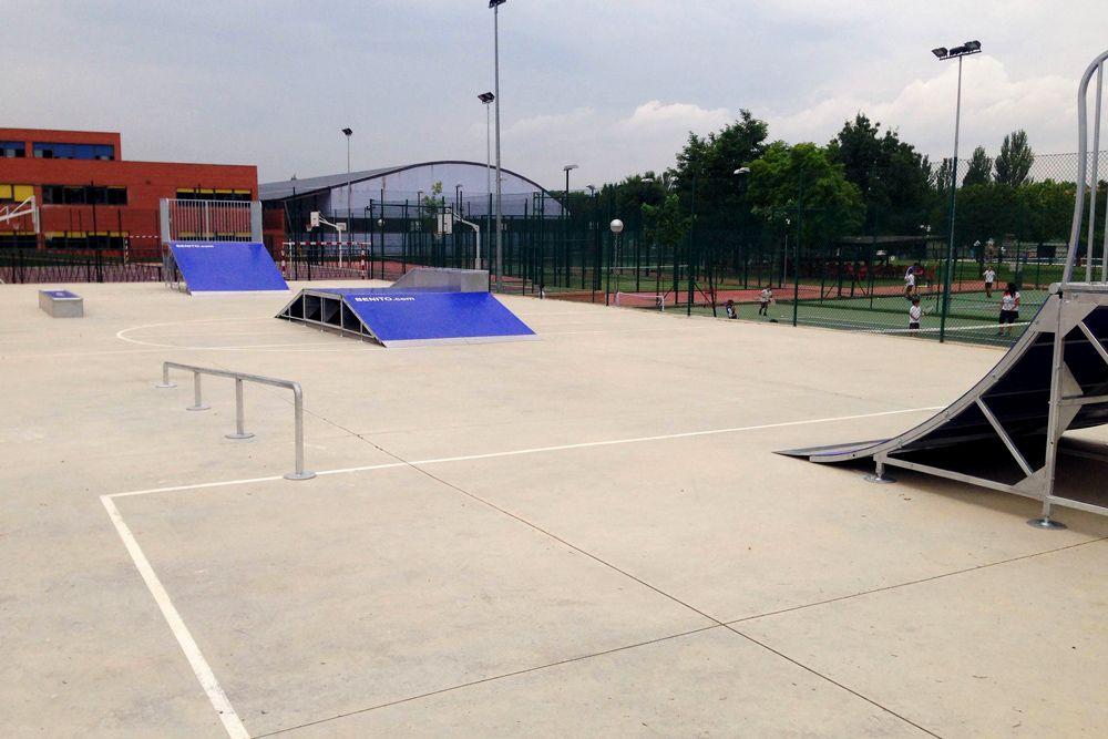 Alalpardo estrena pista skater