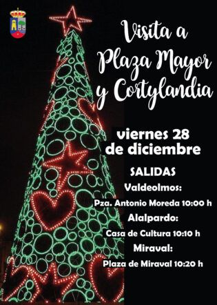 Visita Plaza Mayor y Cortylandia