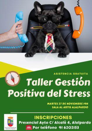 Taller gestión positiva stress