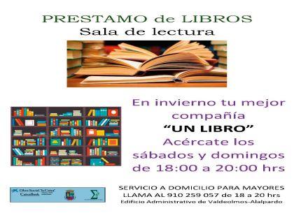 Sala de lectura Valdeolmos