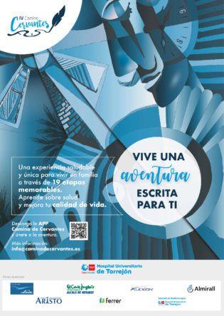 Cartel IV Camino Cervantes