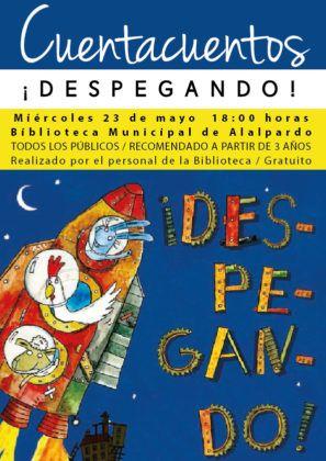 Cuentacuentos Biblioteca DESPEGANDO