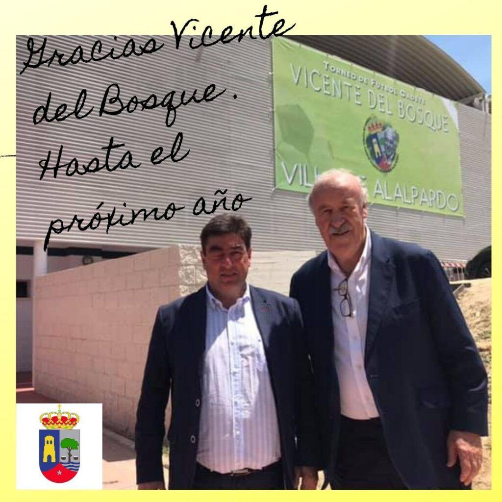Gracias Vicente del Bosque . Hasta