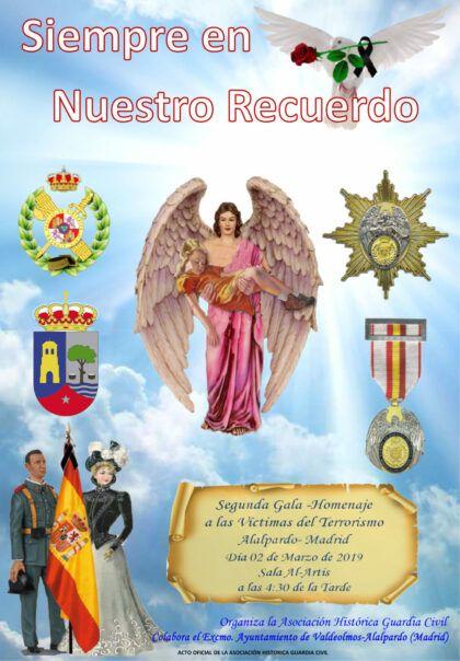 Homenaje Asociación Histórica de la Guardia Civil