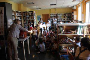 Cuentacuentos Biblioteca Octubre 2018