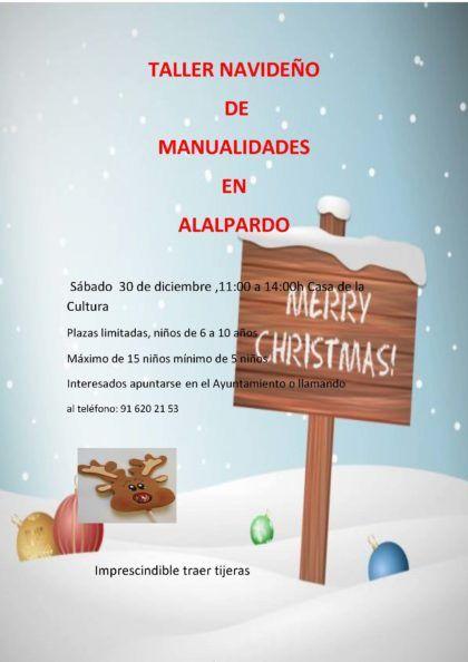 TALLER navideño DE MANUALIDADES