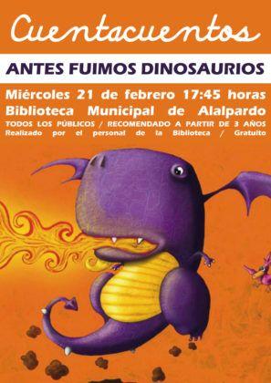 antes fuimos dinosaurios