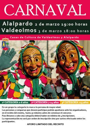 carnaval 2019 Alalpardo y Valdeolmos
